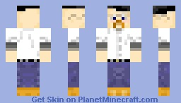 Jamie Hyneman (Mythbusters) - by m1n3cr4ft_FR34K Minecraft Skin