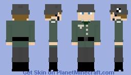 Werner Goldberg WW2 german jewish soldier Minecraft Skin