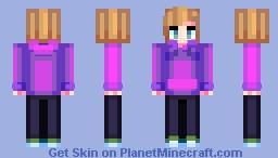 For the partner Minecraft Skin