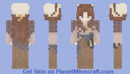The Lady of the Lighthouse || [Contest entry] Minecraft Skin