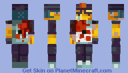 The Last Fiasco of Metias Wright Minecraft Skin