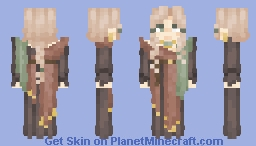 | The Lonely Florist | Future Character | Minecraft Skin