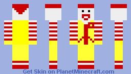 ronald mcdonald Minecraft