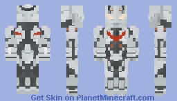 Ultraman The Next - Anphans (ウルトラマン 2004) Minecraft Skin