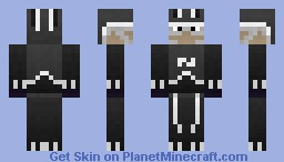 The Void Knight Melee Minecraft Skin