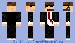 The Warden Minecraft Skin