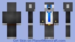 The Agency: Wolf Minecraft Skin