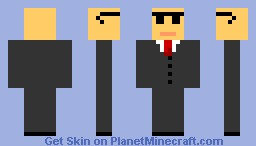 the bo$$ Minecraft Skin