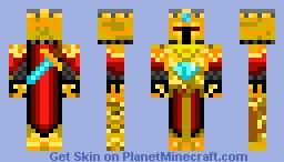 Gold Knight Minecraft Skin
