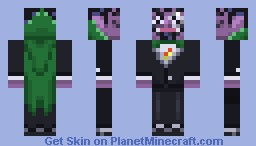 The Count Minecraft Skin