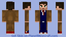 the 10. doctor Minecraft Skin
