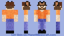 The Frogman Minecraft Skin