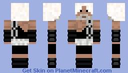 the god of rock Minecraft Skin