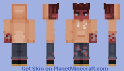 The Last of the Infected (inspired by The Last of Us) Minecraft Skin