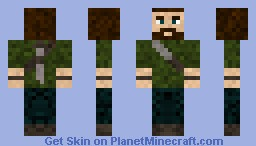 the last of us Minecraft Skin