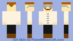 The Computer Nerd Minecraft Skin
