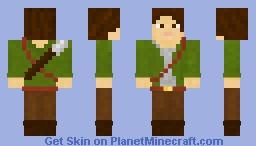 Theodor the Archer Minecraft Skin