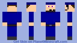 Blue Thief Minecraft Skin