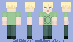 Thom Yorke - Pablo Honey Minecraft Skin