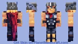 Marvel's Avengers 𝕋𝕙𝕠𝕣 Minecraft Skin