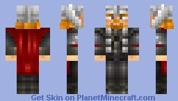 Thor (with Helmet) Minecraft Skin
