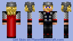 Thor (Final Version) Minecraft Skin