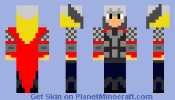 Thor: God of Lighting Minecraft Skin