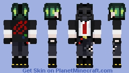☠GAS MASK☠ Minecraft Skin