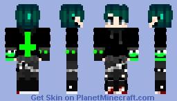 yikes Minecraft Skin