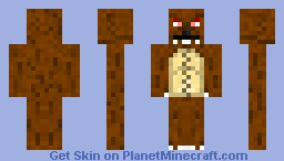 Mr Tibbers Annie's Teddy Bear- Skin Request Minecraft Skin