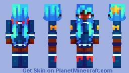 𝓽𝓲𝓭𝓮 𝓬𝓸𝓶𝓮𝓼 𝓲𝓷 Minecraft Skin