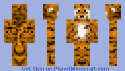 Tiger (read the description plz) Minecraft Skin