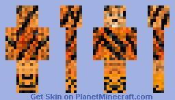 tiger person Minecraft Skin