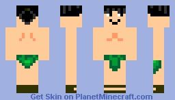 Tiki Man Minecraft Skin