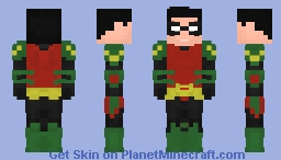Tim Drake - Future State Minecraft Skin