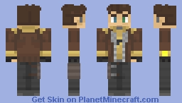 Borderlands 3 - Timothy Lawrence Minecraft Skin