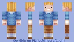 Tintin (updated) Minecraft Skin