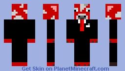 Mushroom cow in a suit Minecraft Skin