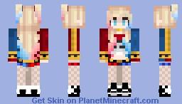 _+ Harley Quinn +_ Minecraft Skin