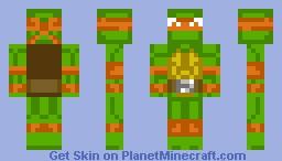 Michelangelo Minecraft Skin