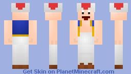 Toad. Minecraft Skin