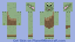 Toadie - Toadwart (world of Gummi Bears) Minecraft Skin