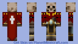 Dungeon Lord Minecraft Skin