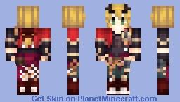Genshin Impact Thoma 1.12 Minecraft Skin