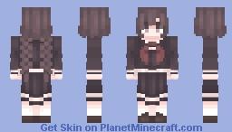 toko fukawa Minecraft Skin