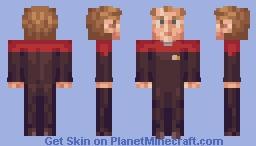 Tom Paris (Pilot) Star Trek Voyager Minecraft Skin