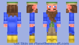 Tom Bombadil (The Lord of the Rings) Minecraft Skin