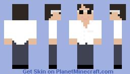 Tom Cruise Minecraft Skin