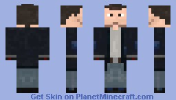 Tom from Falling Skies Minecraft Skin