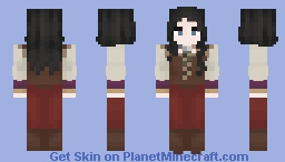 That Cute Herbalist Minecraft Skin
